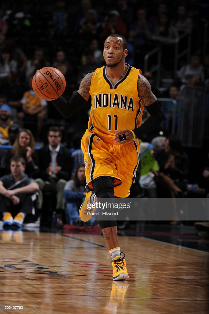 Indiana pacers v denver nuggets photos and images getty images monta ellis 11 of the indiana pacers brings the ball up court against the denver voltagebd