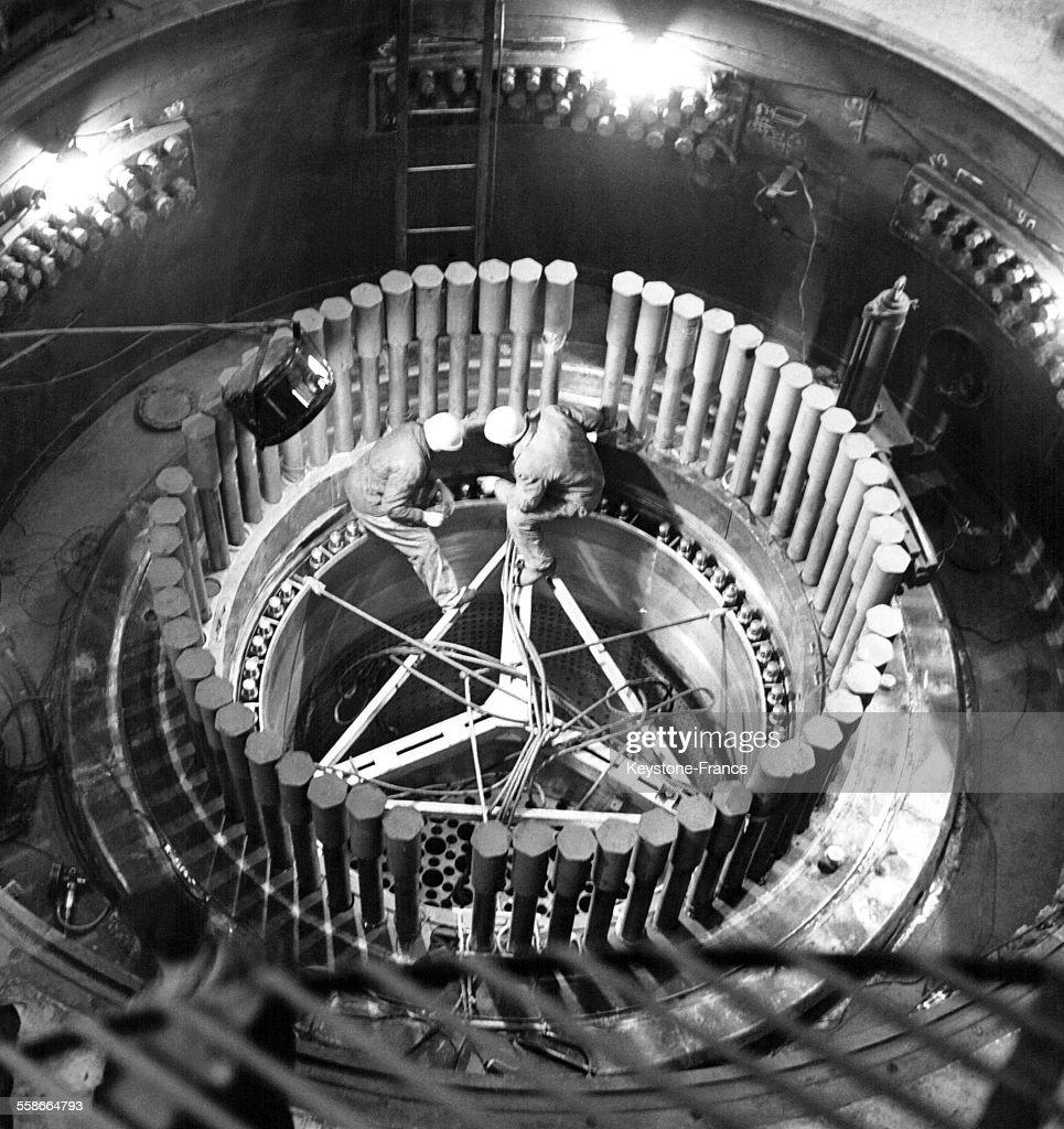 Station électrique atomique : News Photo