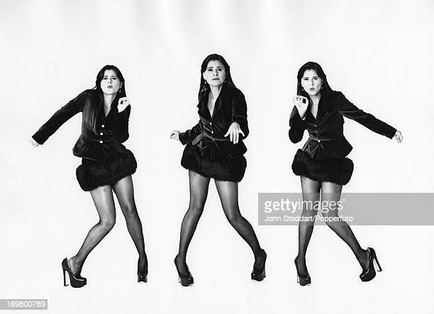 A montage of shots of actress and comedienne Tracey Ullman 1993