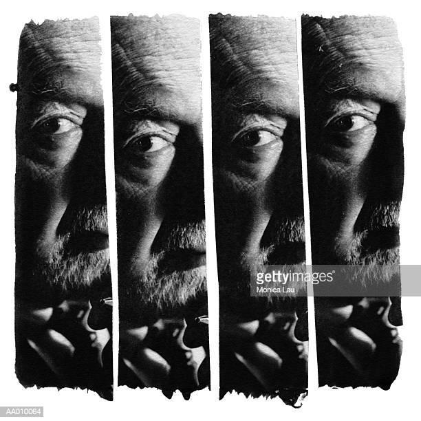 Montage Portrait of a Man
