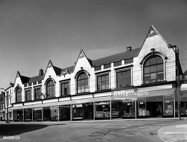 Montague Buildings Mexborough South Yorkshire 1963 The Montague Buildings in were constructed around 1900 on the site of a former quarry and have...