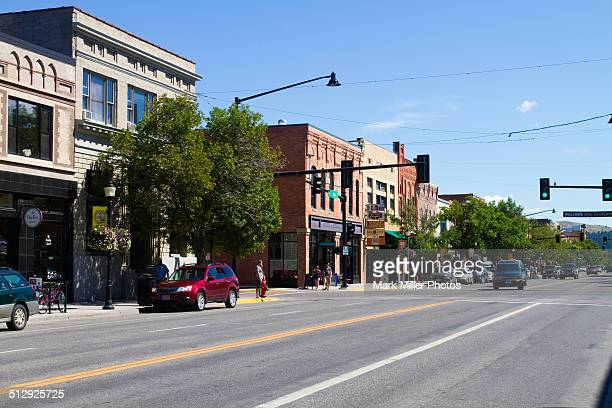 USA, Montana, Bozeman, Business area