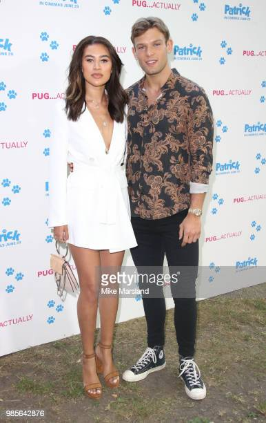 Montana Brown and Elliott Reeder attend the UK premeire of 'Patrick' at on June 27 2018 in London England