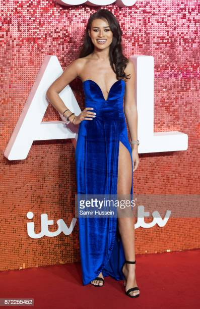 Montana Brown arriving at the ITV Gala held at the London Palladium on November 9 2017 in London England