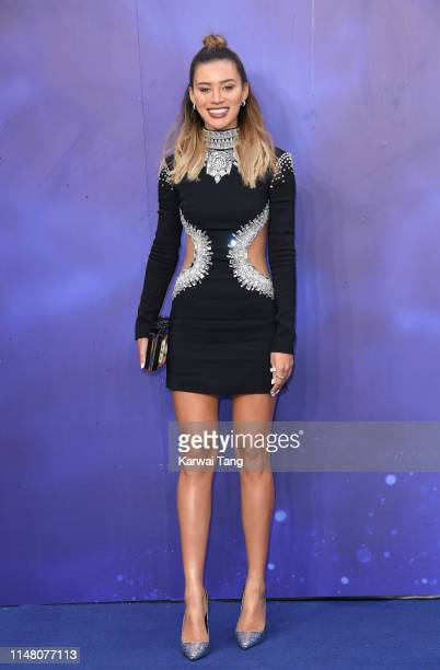 Montana Brown attends the Aladdin European Gala at Odeon Luxe Leicester Square on May 09 2019 in London England