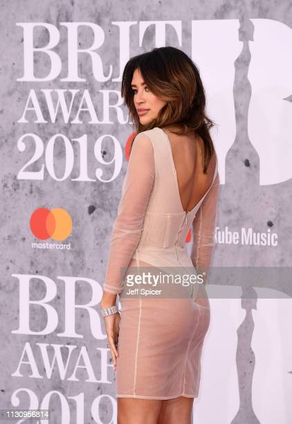 Montana Brown attends The BRIT Awards 2019 held at The O2 Arena on February 20 2019 in London England