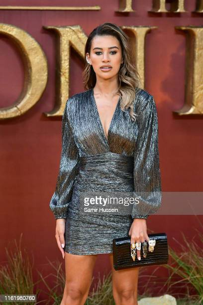 Montana Brown attends The Lion King European Premiere at Leicester Square on July 14 2019 in London England