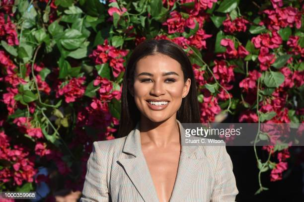 Montana Brown attends the Mamma Mia Here We Go Again world premiere at the Eventim Apollo Hammersmith on July 16 2018 in London England