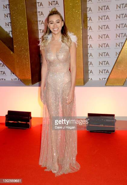 Montana Brown attends the National Television Awards 2020 at The O2 Arena on January 28 2020 in London England