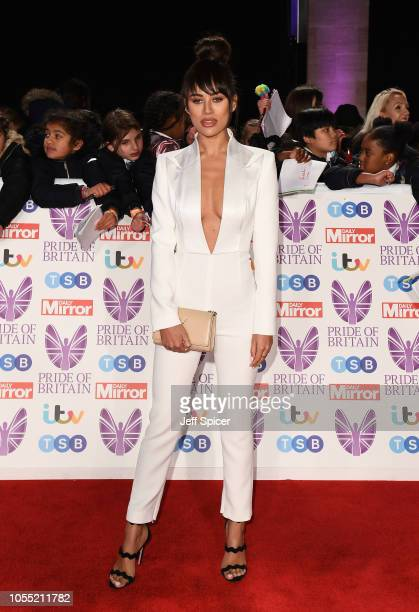 Montana Brown attends the Pride of Britain Awards 2018 at The Grosvenor House Hotel on October 29 2018 in London England