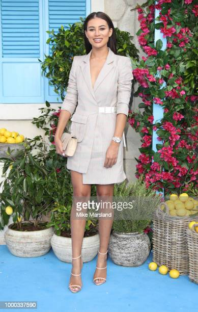 Montana Brown attends the UK Premiere of Mamma Mia Here We Go Again at Eventim Apollo on July 16 2018 in London England