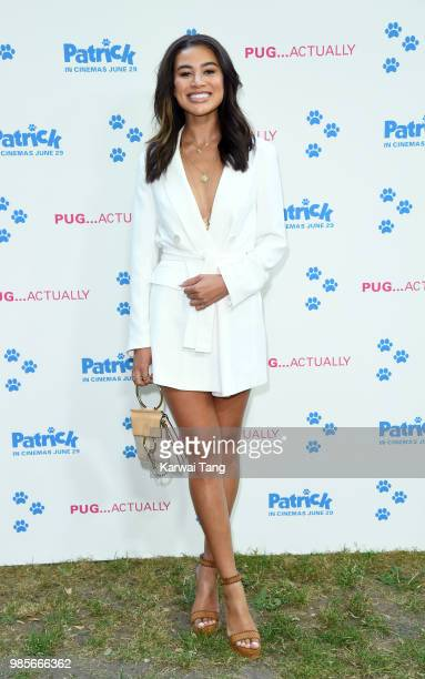 Montana Brown attends the UK premiere of 'Patrick' on June 27 2018 in London England