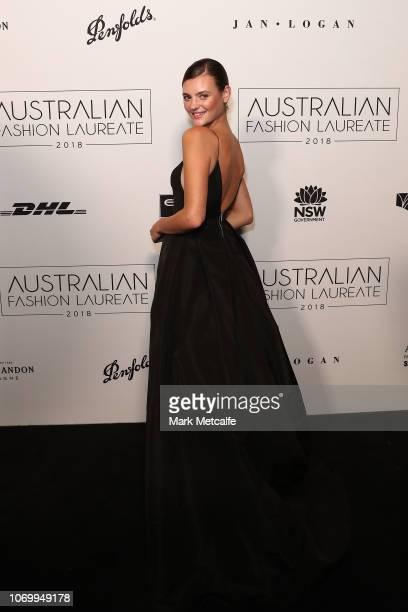 Montana Cox attends the 2018 Australian Fashion Laureate Awards on November 20 2018 in Sydney Australia