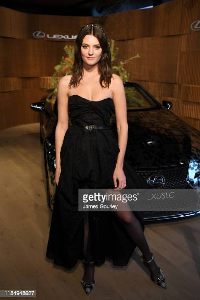 Montana Cox attends the Lexus marquee during Derby Day at Flemington Racecourse on November 02, 2019 in Melbourne, Australia.