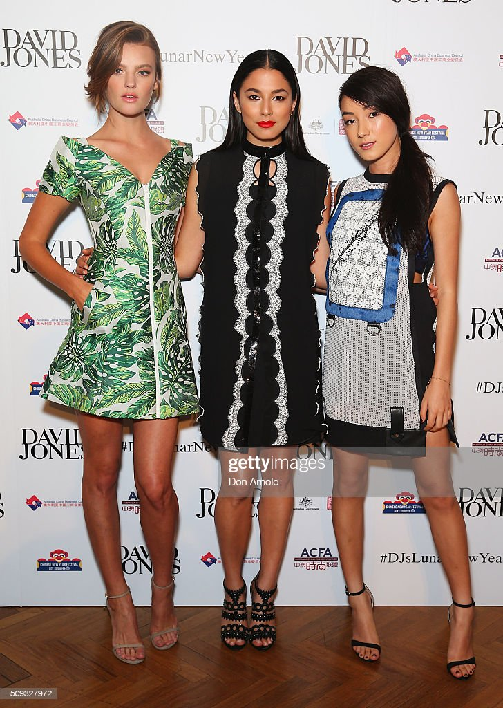David Jones Lunar New Year Designer Collection Launch Party