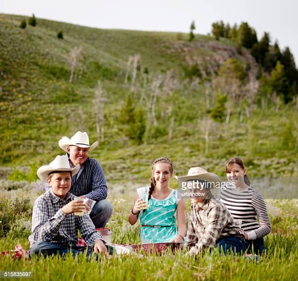 Montana family picnic