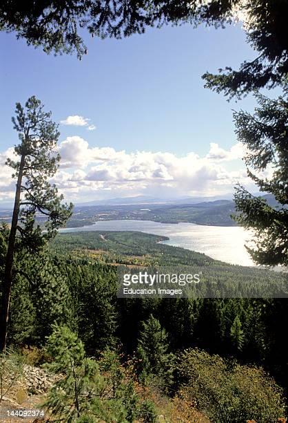 Montana Flatland Lake Kalispell