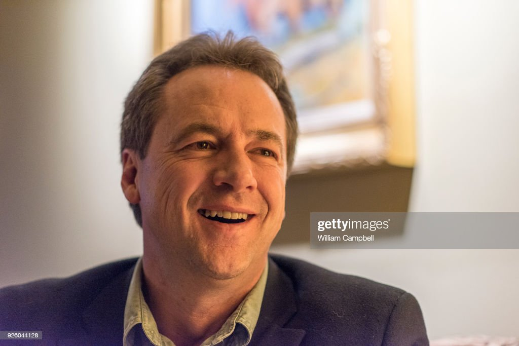 Montana Governor Steve Bullock campaigns for local democrats : News Photo