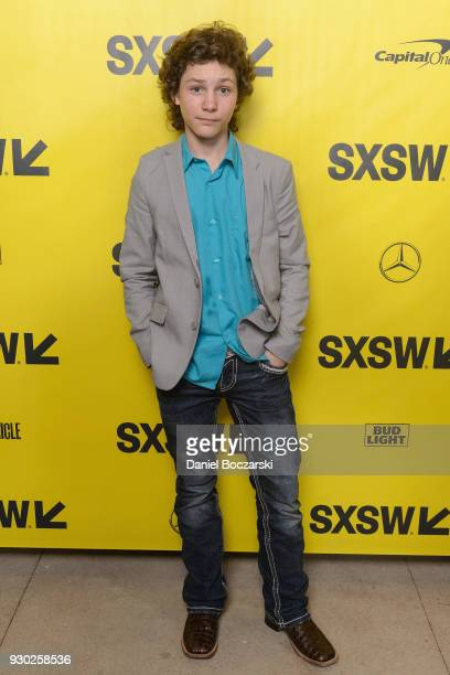 Montana Jordan attends the red carpet premiere of The Legacy of a Whitetail Deer Hunter during SXSW 2018 at ZACH Theatre on March 10 2018 in Austin...