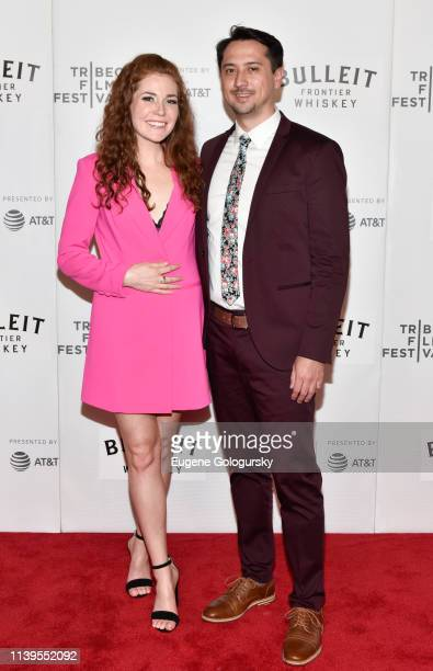 Montana Loran and Brian Flynn attend the Westfalia Premiere 2019 Tribeca Film Festival at Regal Cinema Battery Park on April 26 2019 in New York City