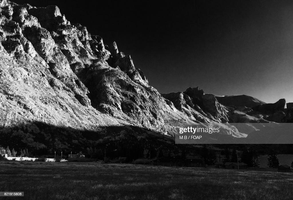 Montana mountains : Stock Photo