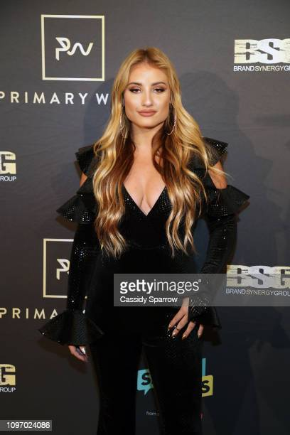 Montana Tucker attends Primary Wave 13th Annual PreGRAMMY Bash at The London West Hollywood on February 9 2019 in West Hollywood California