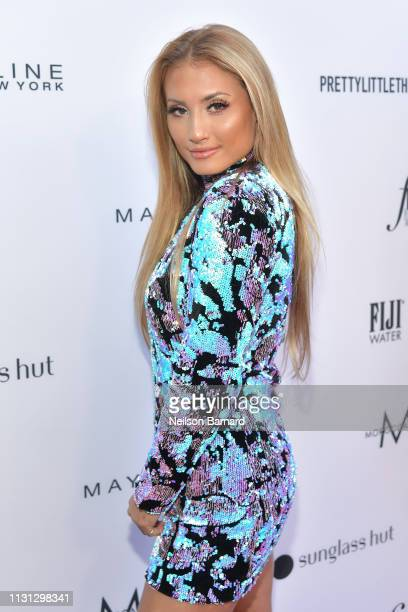 Montana Tucker attends The Daily Front Row Fashion LA Awards 2019 on March 17 2019 in Los Angeles California