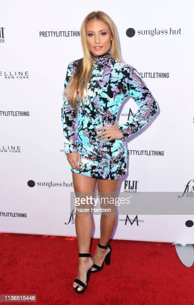 Montana Tucker attends The Daily Front Row's 5th Annual Fashion Los Angeles Awards at Bevserly Hills Hotel on March 17 2019 in Beverly Hills...
