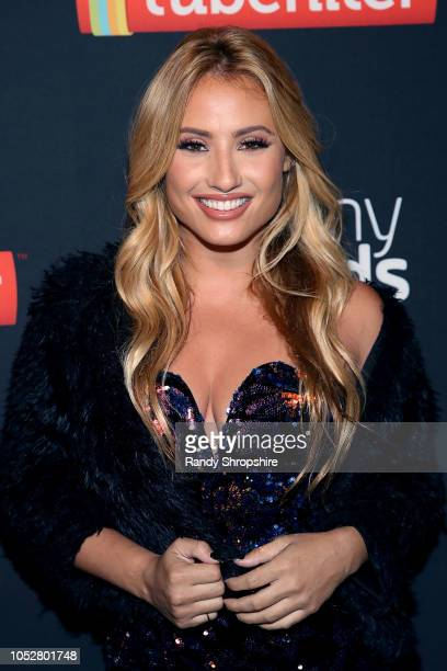 Montana Tucker attends the official 2018 Streamys After Party at SkyBar at the Mondrian Los Angeles on October 22 2018 in West Hollywood California