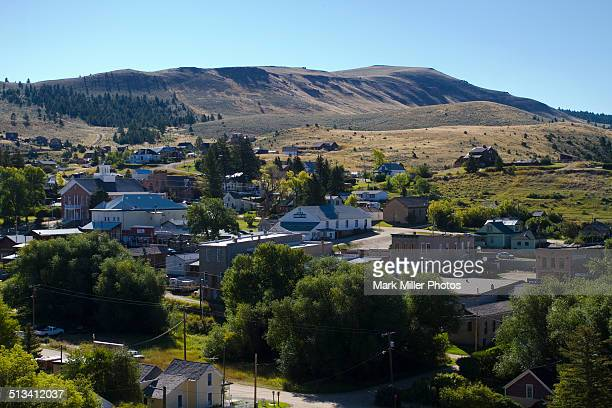 usa, montana, virginia city- old west gold town - protohistory_of_west_virginia stock pictures, royalty-free photos & images