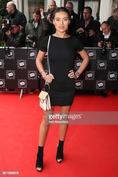 Montanna Brown attends the TRIC Awards 2018 held at The Grosvenor House Hotel on March 13 2018 in London England