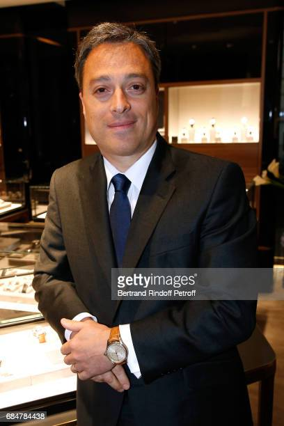 Montblanc International Nicolas Baretzki attends the Montblanc ChampsElysees Flagship Reopening on May 18 2017 in Paris France