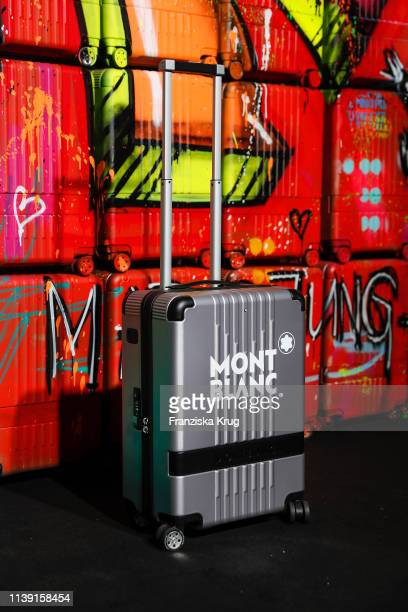 """Montblanc #MY4810 SILVER Trolley during the Montblanc launch event """"Reconnect To The World"""" at Metropol Theater on April 24, 2019 in Berlin, Germany."""