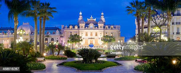 Monte Carlo Casino and the Jardin Exotique in Monaco