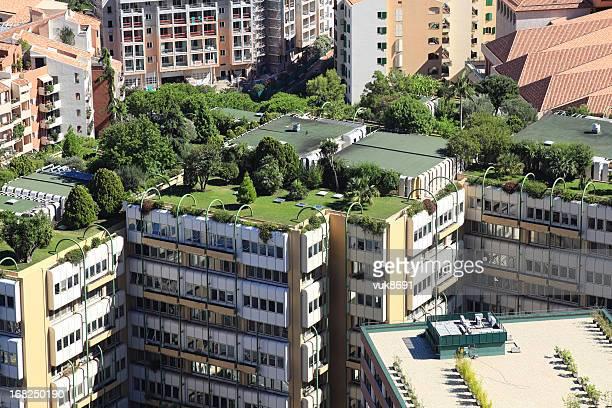 Monte Carlo les toits de la ville