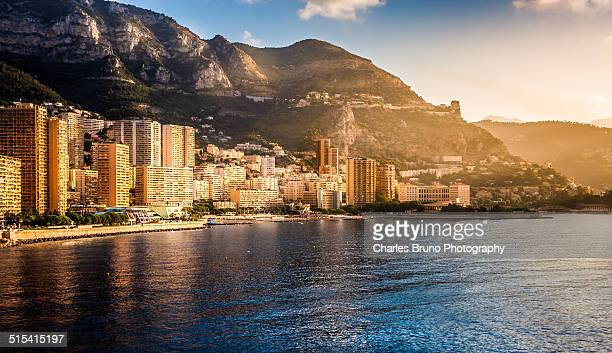 Monte Carlo Harbor at sunrise