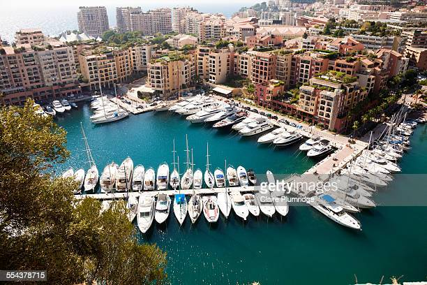monte carlo harbour, monaco - monaco stock pictures, royalty-free photos & images