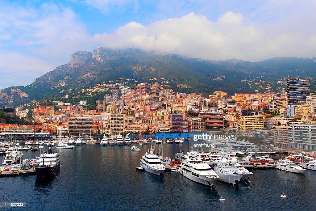 Monte Carlo, Monaco : Stock Photo