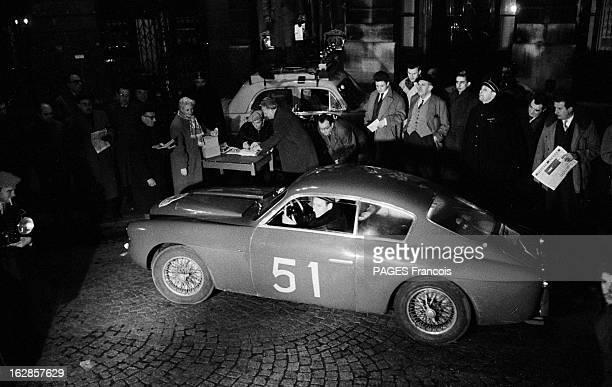 Monte Carlo Rally 1956. Monaco, le 27 janvier 1956. Le rallye de Monte-Carlo est une manifestation sportive organisée par l'Automobile Club de Monaco...