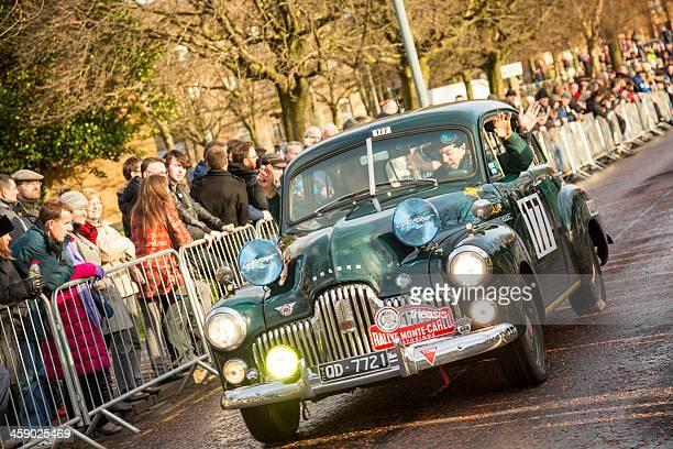 monte carlo rally 2013 - theasis stockfoto's en -beelden