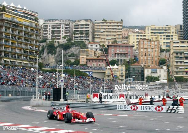 MONACO 2002 Monte Carlo TRAINING Michael SCHUMACHER/GER FERRARI