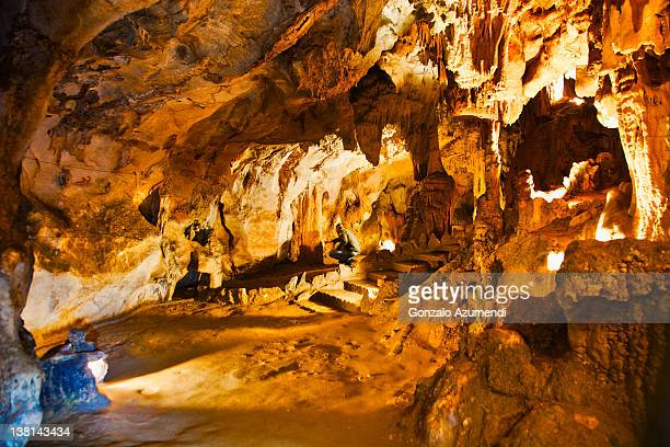 Monte Castillo caves.