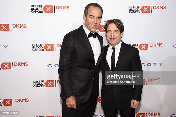 Monte Lipman and Charlie Walk attend the 10th Annual Delete Blood Cancer DKMS Gala at Cipriani Wall Street on May 5 2016 in New York City