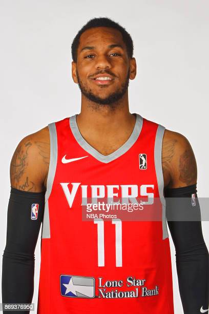 Monte Morris of the Rio Grande Valley Vipers poses for a head shot during the NBA GLeague media day November 1 2017 at the team's practice facility...