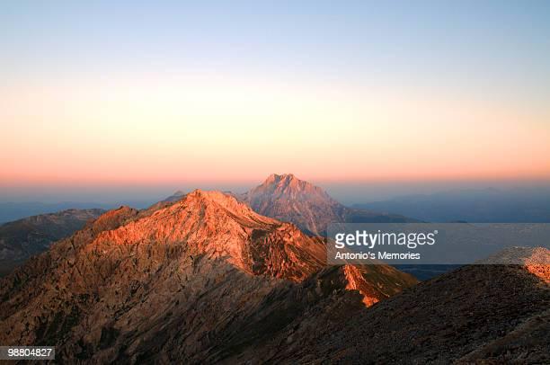 Monte Prena in red