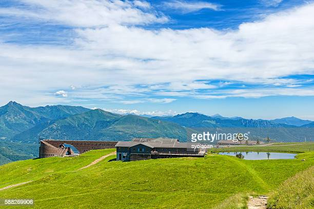 monte tamaro, switzerland - syolacan stock pictures, royalty-free photos & images
