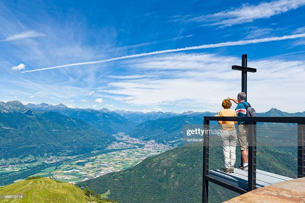 Monte Tamaro, Switzerland : Stock Photo