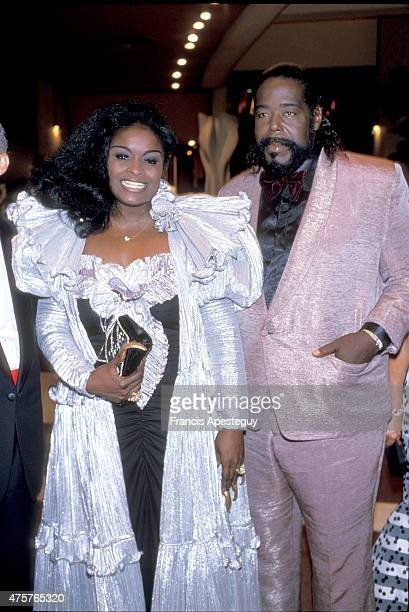 MonteCarlo Monaco Barry White singer with his wife