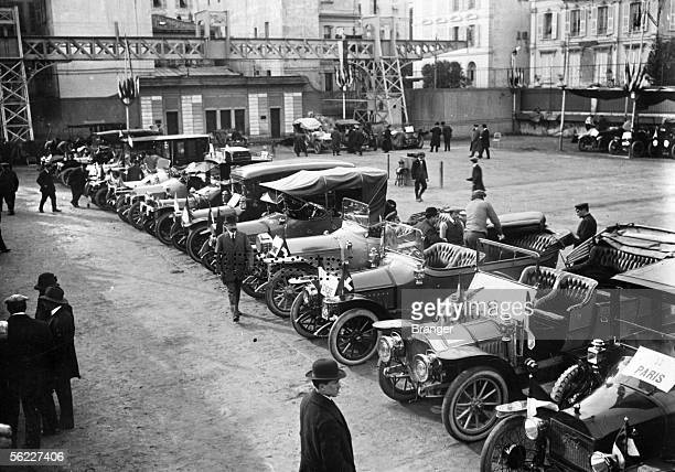 Monte-Carlo rally start. 1912.