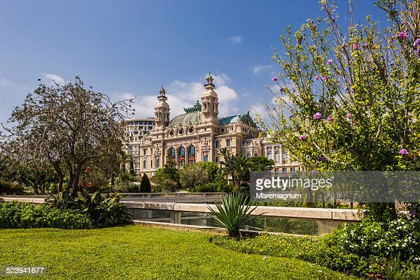 montecarlo, the casino - monte carlo stock pictures, royalty-free photos & images